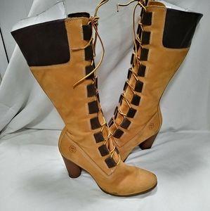 Timberland Combat Boots 8.5
